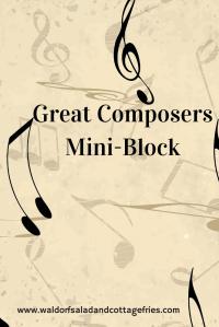great composers mini block