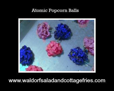 atomic popcorn balls