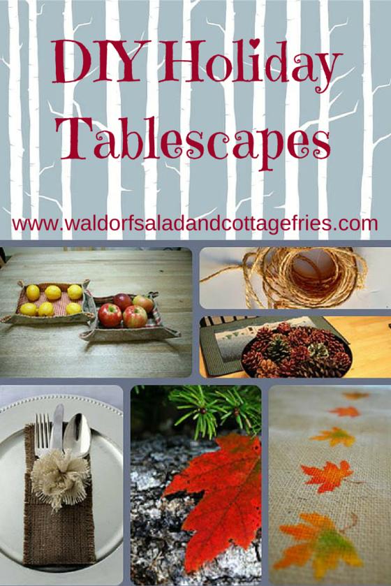 DIY Tablescapes