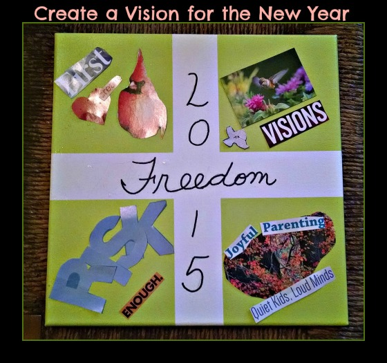 vision board 2015