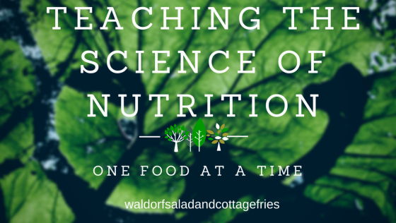 Teaching the Science of Nutrtion